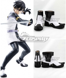 Sword Art Online Ordinal Scale Kirigaya Kazuto Kirito Movie Black White Cosplay Shoes