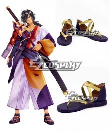 Tales of Berseria Rokurou Rangetsu Cosplay Shoes
