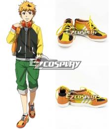 Tokyo Ghoul Nagachika Hideyoshi Orange Cosplay Shoes