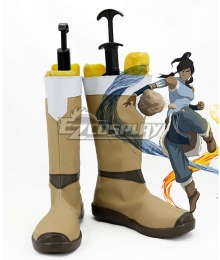 Avatar: The Legend of Korra Korra Brown Shoes Cosplay Boots