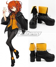 Fate Grand Order Masters Female Black Cosplay Shoes