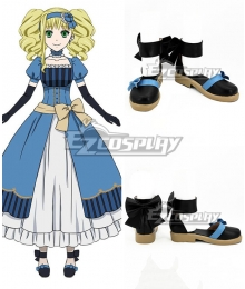 Black Butler Kuroshitsuji Movie: Book of the Atlantic Elizabeth Midford Black Cosplay Shoes