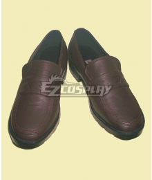 Blue Exorcist Ao no Exorcist Kamiki Izumo Brown Cosplay Shoes