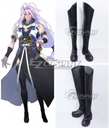 Touken Ranbu Sengo Muramasa Black Shoes Cosplay Boots
