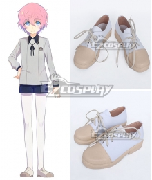 Touken Ranbu Akitatoushirou White Cosplay Shoes