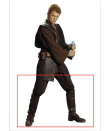 Star Wars Episode II Attack of the Clones Anakin Skywalker Shoes Cosplay Boots