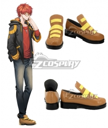 Mystic Messenger 707 Orange Cosplay Shoes