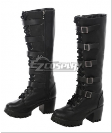 Underworld: Blood Wars Selene Black Shoes Cosplay Boots