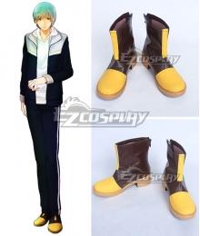 Touken Ranbu Ichigo Hitofuri Yellow Brown Shoes Cosplay Boots
