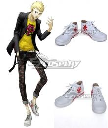 Persona 5 Ryuji Sakamoto White Cosplay Shoes