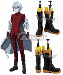 Chronos Ruler Victo Alexander Albion Putin Victo Putin Black Shoes Cosplay Boots
