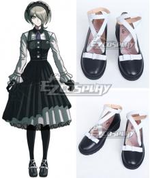 Danganronpa V3: Killing Harmony Kirumi Tojo Black Cosplay Shoes
