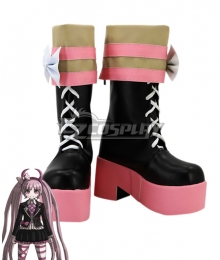 Danganronpa Kotoko Utsugi Pink Shoes Cosplay Boots