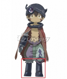 Made in Abyss Regu Black Shoes Cosplay Boots
