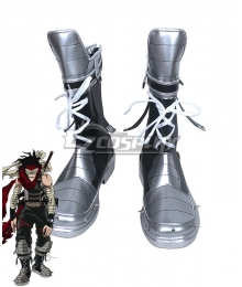 My Hero Academia Boku no Hero Akademia Chizome Akaguro Hero Killer Stain Black Shoes Cosplay Boots