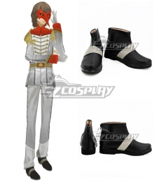 Persona 5 Goro Akechi Black Cosplay Shoes - B Edition