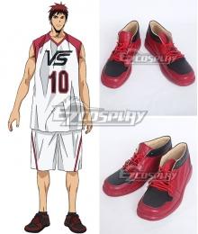 Kuroko's Basketball Last Game Taiga Kagami Red Cosplay Shoes