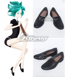 Land of the Lustrous Houseki no Kuni Phosphophyllite Cinnabar Diamond Bort Black Cosplay Shoes