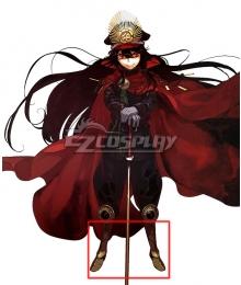 Fate Grand Order Oda Nobunaga Golden Shoes Cosplay Boots