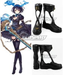 SINoALICE Alice Breaker Black Cosplay Shoes
