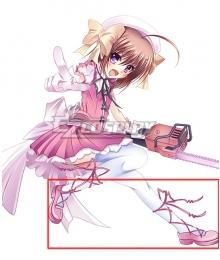 Is This a Zombie? Koreha Zombie Desuka Haruna Pink Cosplay Shoes