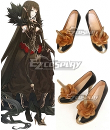 Fate Grand Order Fate Apocrypha Semiramis Ototsugu Konoe Black Cosplay Shoes