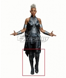 Marvel X-Men Apocalypse X Men Storm Ororo Munroe Black Cosplay Shoes