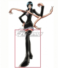 One Piece Nico Robin Black Shoes Cosplay Boots