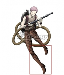 Juuni Taisen Zodiac War Elder Brother Tatsumi Snake Elder Brother Tatsumi Dragon Brown Shoes Cosplay Boots