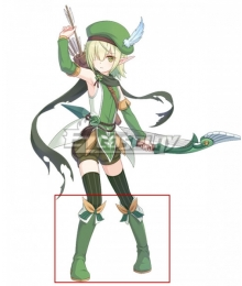 Princess Connect! Re:Dive Aoi Futaba Green Shoes Cosplay Boots