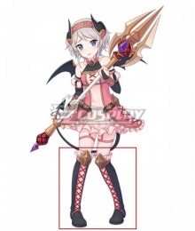Princess Connect! Re:Dive Yori Kazemiya Black Shoes Cosplay Boots
