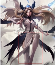 League Of Legends LOL Invictus Gaming's World Champion Skin The Blade Dancer Irelia White Shoes Cosplay Boots