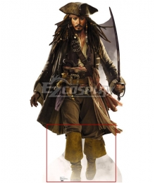 Pirates of the Caribbean Jack Sparrow Halloween Brown Shoes Cosplay Boots