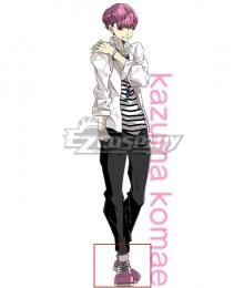 Get Up! Get Live! 6 Kazuma Komae Pink Cosplay Shoes