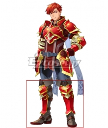 Fire Emblem Heroes The Bull Cain Red Shoes Cosplay Boots