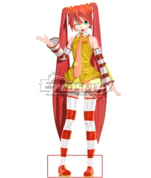 Vocaloid Hatsune Miku McDonald's Red Cosplay Shoes