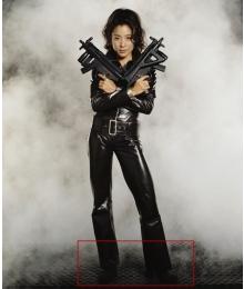 James Bond Wai Lin Black Cosplay Shoes
