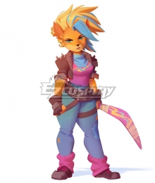 Crash Bandicoot 4 Tawna Cosplay Costume