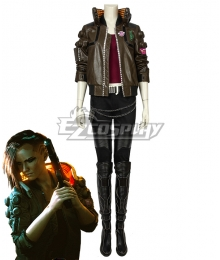 Cyberpunk 2077 V Female Cosplay Costume B Edition