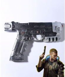 Cyberpunk 2077 Character V Male Gun Cosplay Weapon Prop