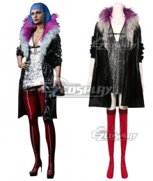 Cyberpunk 2077 Evelyn Parker Cosplay Costume