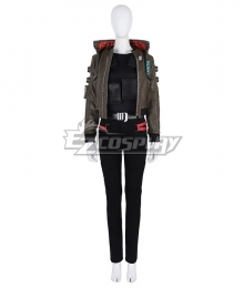 Cyberpunk 2077 Female Character Cosplay Costume