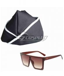 Dancing Coffin Hat Glasses Cosplay Accessory Prop