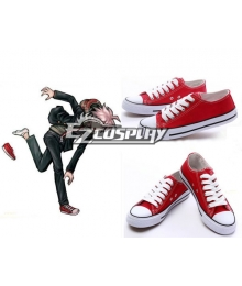 Dangan Ronpa Naegi Makoto Uniform Cosplay Shoes