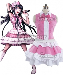 DanganRonpa Dangan Ronpa Sayaka Maizono New Edition Cosplay Costume