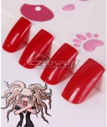 DanganRonpa 2 Dangan Ronpa Junko Enoshima Nails Cosplay Accessory Prop