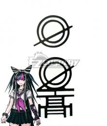 Danganronpa 2: Goodbye Despair Ibuki Mioda School Badge Cosplay Accessory Prop