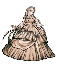 Danganronpa Dangan Ronpa 2: Goodbye Despair Sonia Nevermind Legacy of Hope Dress Cosplay Costume