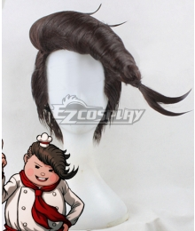 Danganronpa 2 Teruteru Hanamura Brown Cosplay Wig
