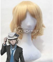 Danganronpa 3: The End Of Hope's Peak High School Despair Arc Koichi Kizakura Golden Cosplay Wig